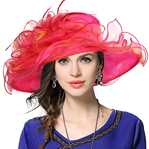 JESSE · RENA Women's Church Derby Dress Fascinator Bridal Cap British Tea Party Wedding Hat