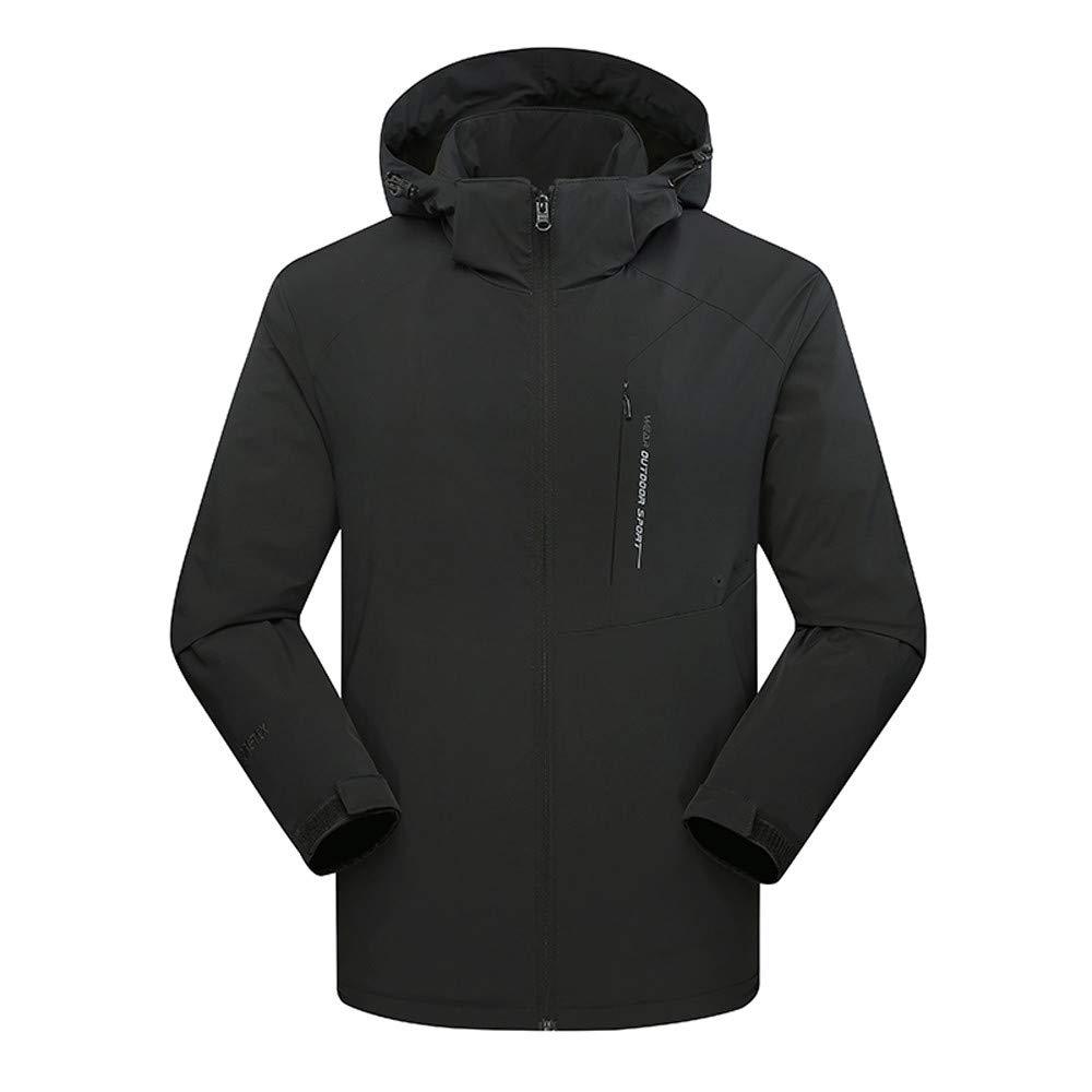 Pandaie-Mens Product Hoodies for Men.Mens Autumn Winter Cashmere Waterproof Breathable Sport Outdoor Assault Coat