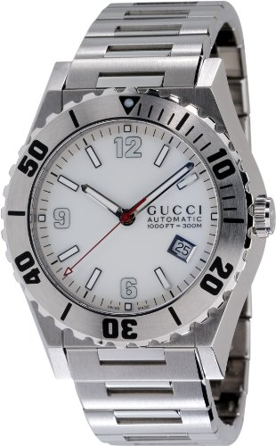 GUCCI Men's YA115212 Pantheon Stainless Steel Watch