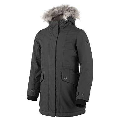 Für Jacket Grau Cmp Parka Mädchenblau Fix Hood Campagnolo Y7gybf6