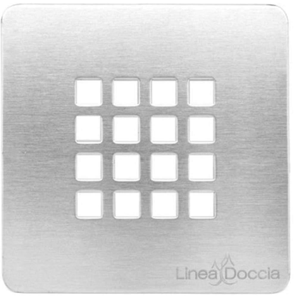 Rejilla para plato ducha ribassato simil-stone-cm 12,5/x 12,5