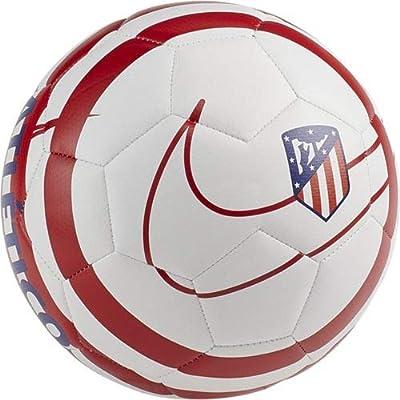 Nike ATM NK PRSTG Soccer Ball, Adultos Unisex, White/Sport Red ...