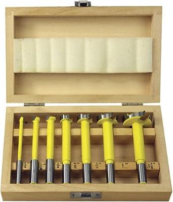 Woodtek 109091, Bits, Drill And Boring, Forstner, 7-Pc Carbide Tipped Forstner Bit Set