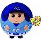 Ty Beanie Ballz MLB Kansas City Royals Plush