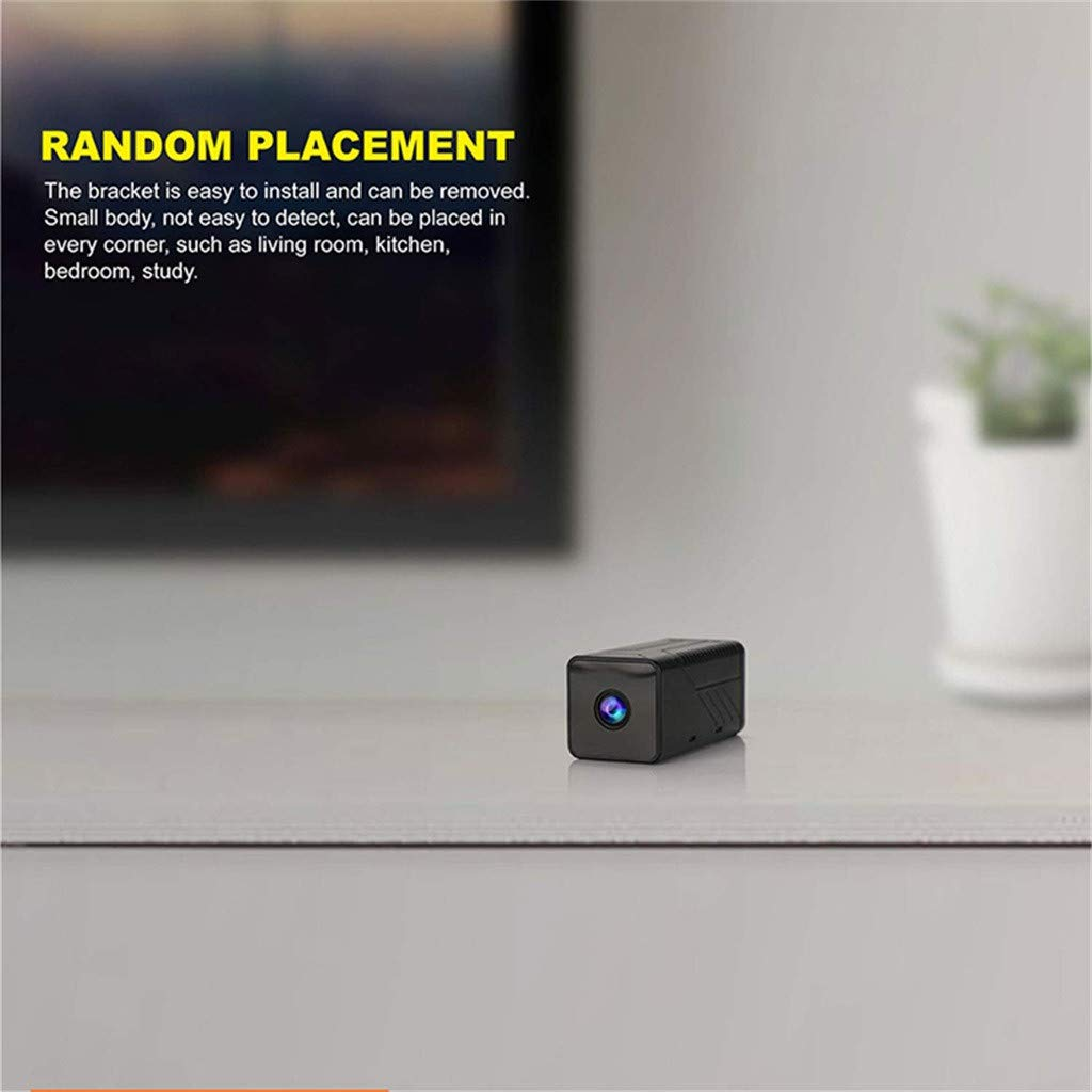 Wabaodan Ultra Long Night Vision Mini Webcam 1920PX1080P HD Wifii Remote HD Wireless Camera by Wabaodan (Image #6)