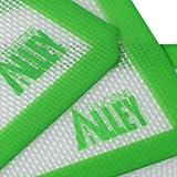 SILICONE ALLEY, 3 Non-Stick Silicone Mat Pad, Small