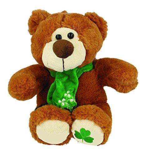 Shamrock Gift Company Irish Brown Bear 6.5