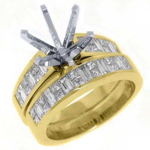 Carats 18k Gold Semi Mounting - 4