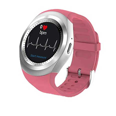 Smart Watches Round Support Nano SIM y Tarjeta TF con ...