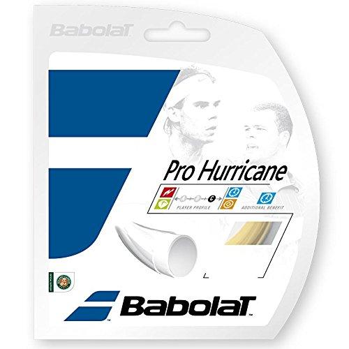 Babolat B241076-17:SET Pro Hurricane 17g Strings (Babolat Hurricane Pro String)
