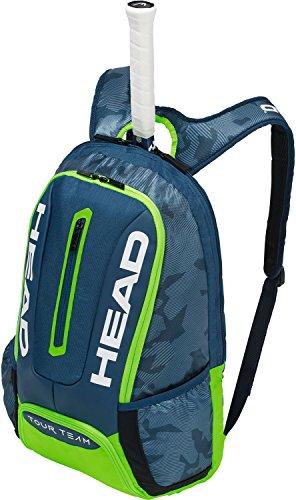 HEAD Tour Team Backpack Navy/Green