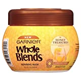 Best GARNIER Products For Curly Hairs - Garnier Whole Blends Honey Treasures Repair Hair Mask Review