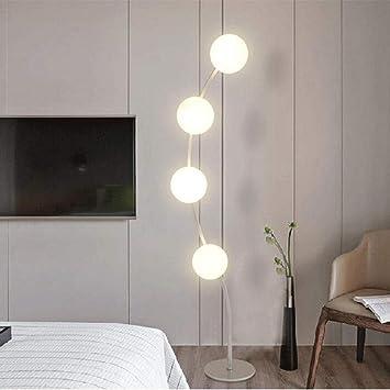 GJ Minimalista Moderno Sala de Estar Dormitorio Lado LED ...