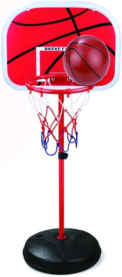Fang zhou El Juego de Mini Tablero de Juego de Mesa de Soporte de Baloncesto y la Bomba de Aire de Altura Ajustable en el Interior de la Puerta proporcionan una sensación