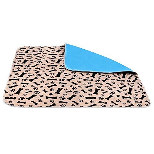2 Pack Large Premium Washable Reusable Pet Training Pads Pet Kennel Pad
