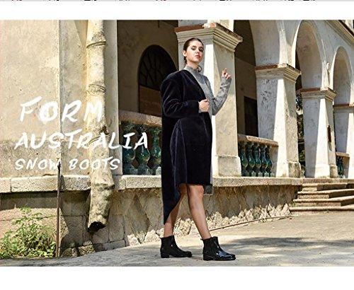 Martin Impermeabili Città Stivali da Stivali Casual Femminili Stivali Antiscivolo da A da Stivali Pioggia Stivali Pioggia SYdwgnxFTq