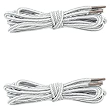 Women's DailyShoes Round Camping and Hiking Boot Shoelaces - 2 PAIRS