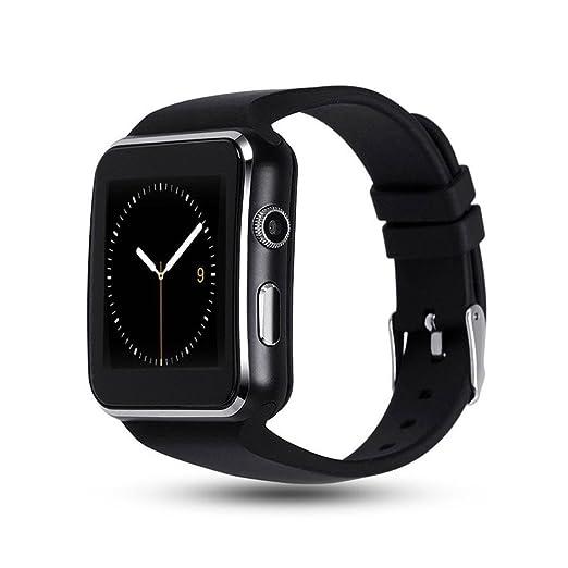Teepao X6 Reloj inteligente curvado Bluetooth 3.0 rastreador de sueño Adulto Deporte Reloj de Pulsera Smartwatch Deporte para Android y IOS Teléfonos ...