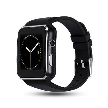 Teepao X6 Reloj inteligente curvado Bluetooth 3.0 rastreador de sueño Adulto Deporte Reloj de Pulsera Smartwatch Deporte para Android y IOS Teléfonos con ...