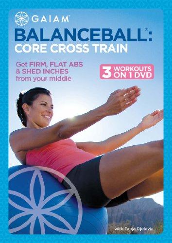 Balance Ball: Core Cross -