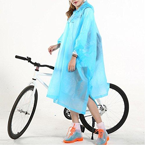 Moto Sasairy V Pluie Femme Poncho de FzWz4aR