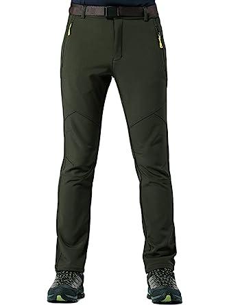 KING Shield Men s Windproof Climbing Hiking Pants Soft Shell Pant (US 29 47c033d8e