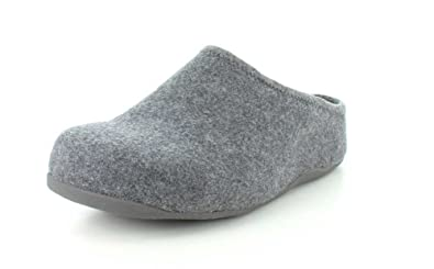 FitFlop Shuv Felt Clogs Blue womens shoes and clogs