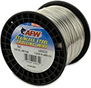 American Fishing Wire T304 Stainless Steel Trolling Wire, 100-Pound/1510-Feet