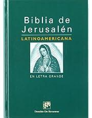 Biblia de Jerusalen Latinoamerican En Letra Grande-OS