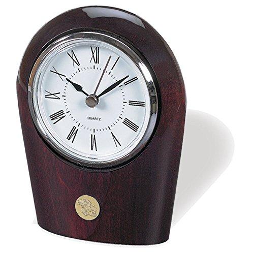 NCAA Kansas Jayhawks Adult Palm Clock, One Size, Silver