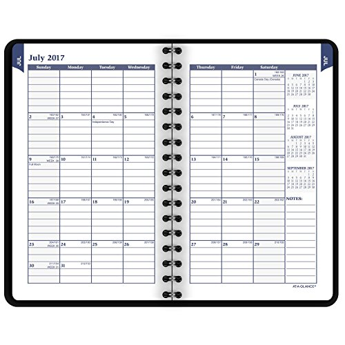 80 off at a glance academic weekly monthly pocket appointment book