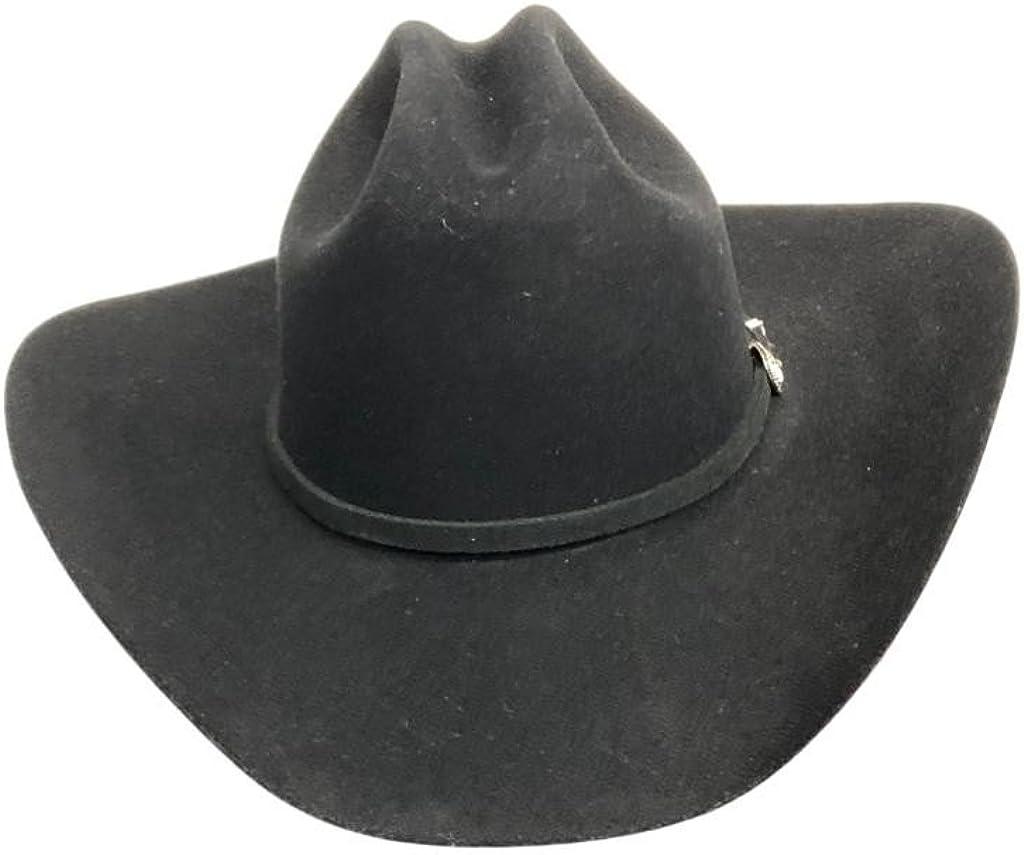 Sbcral-754098 Silver Sand Stetson Mens 4X Corral Buffalo Felt Cowboy Hat