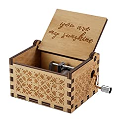 You are My Sunshine Wood Music Boxes,Las...