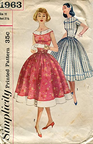 50s dress patterns simplicity - 8