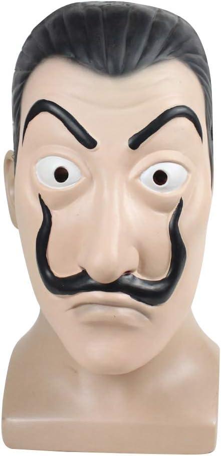 La Casa de Papel Máscara, Mascara La Casa de Papel Dali Original ...