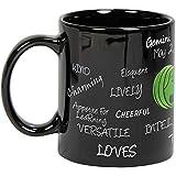Gemini Zodiac Sign Black Mug  Zodiac Sign Gift   Birthday  Coffee Mugs Microwave Safe Printed