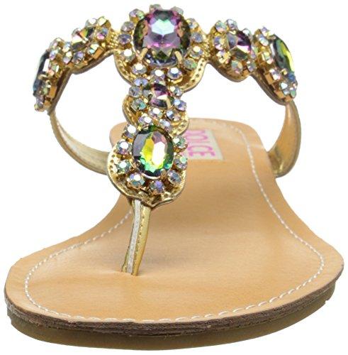 by Women's Gold Dress Fairytale Sandal Dolce Moxy Mojo SBAvxqqF
