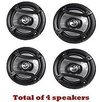 4 X Pioneer TS-165P 6.5 Inch 2-Way Car Audio Speakers - Car Spekaer Package