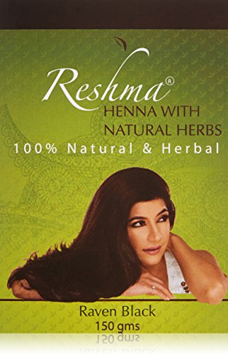 Reshma Beauty Classic Henna Hair Color, Raven Black