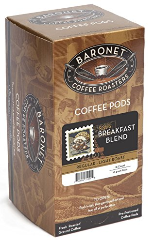 Baronet Coffee Breakfast Blend Coffee Pods, 54 -