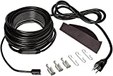 Frost King RC200 200 x 120 x 7' Automatic Electric Roof Cable Kits, Black