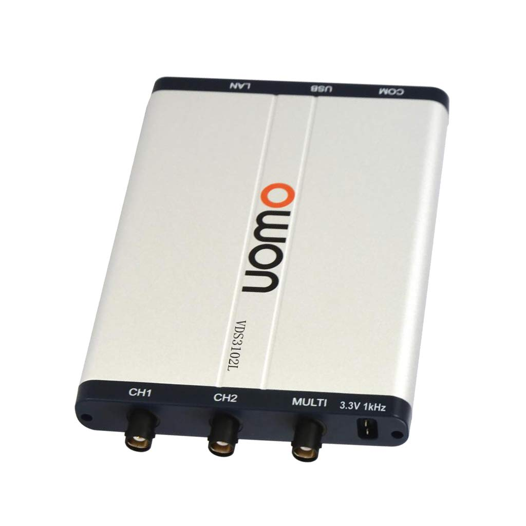 SM SunniMix PC USB Virtual Digital Oscilloscop VDS3102L USB Port LAN port 100mhz