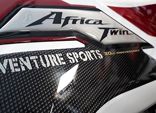 2 PROTEZIONI LATERALI GEL 3D compatibili x MOTO HONDA AFRICA TWIN ADVENTURE 2018 Labelbike