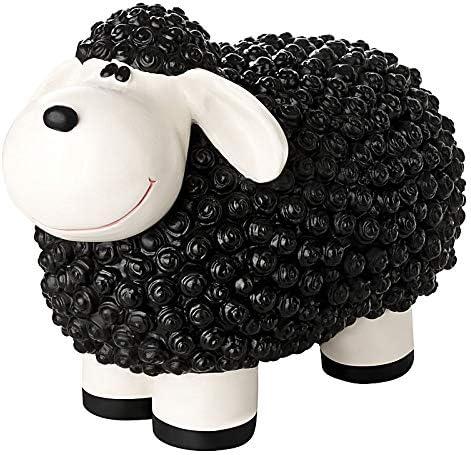 1PLUS Figura de jardín Figura oveja Molly, Figura para el jardín ...
