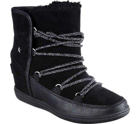 Black Skechers Boot Trois Plus SKCH 3 Women's TpwZYqR