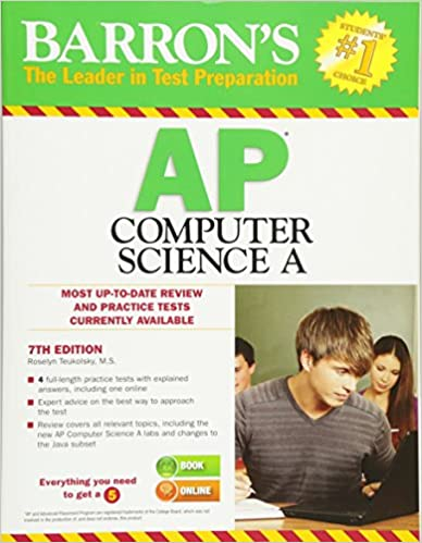 Amazon barrons ap computer science a 7th edition barrons ap computer science a 7th edition 7th edition fandeluxe Gallery