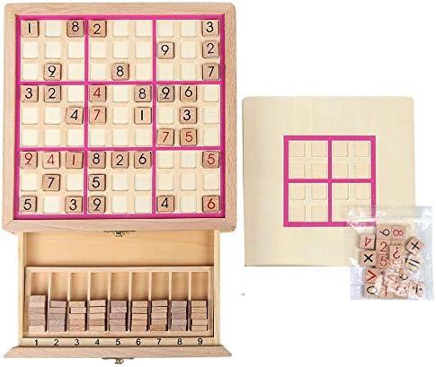 Juguetes - Desarrollo intelectual Juguetes entre padres e hijos Juego de ajedrez Sudoku tres en uno 4/6/9 Ajedrez de memoria Jiugongge - Juguetes para niños y niñas de 3 años (Color : C) : Amazon.es: Hogar