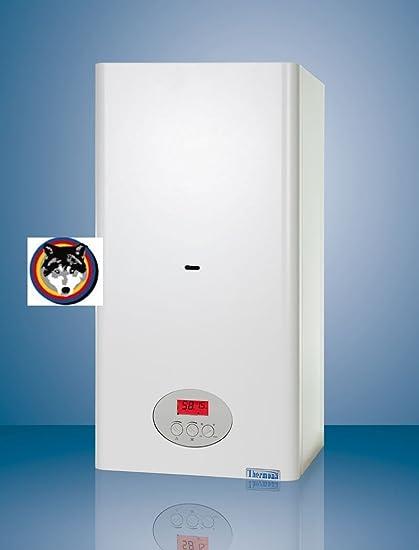 Calentador de pared combi caldera de gas de la caldera 23kW CLN agua + calefacción de