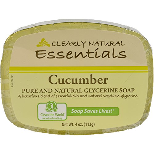 clearly-natural-essentials-glycerin-bar-soap-cucumber-4-ounce-bar12-pack