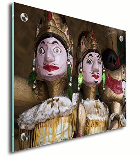 Wayang Golek Wood Puppet Acrylic Print Wall Decor Wall Art - Standoff, 18